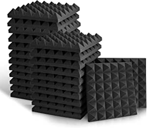 Acoustic Foam Panels, Studio Wedge Tiles, 2