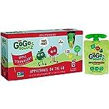 GoGo squeeZ Applesauce, Apple Strawberry, 12 Pouches
