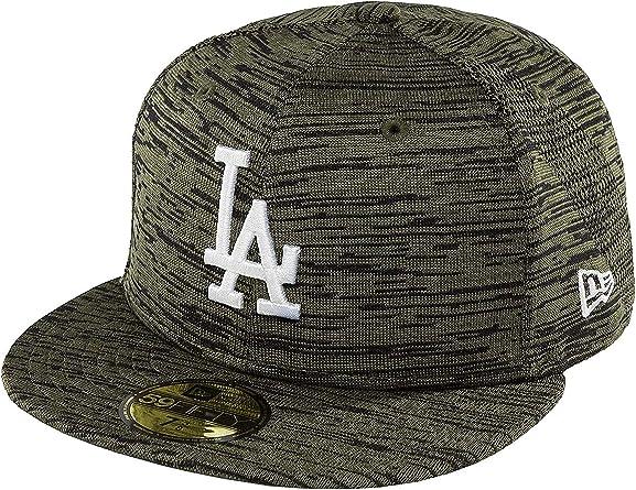 New Era Mujeres Gorras / Gorra plana Engineered Fit LA Dodgers ...