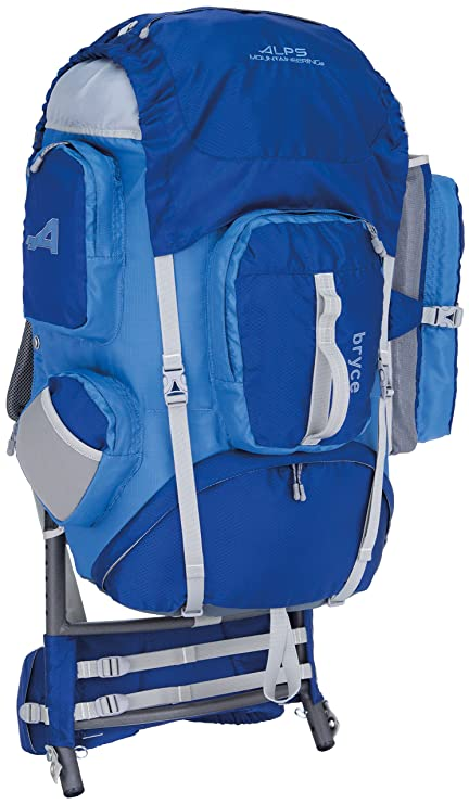 5d82eefbf162 ALPS Mountaineering Bryce Nylon Ripstop External Frame Pack (3600 cubic  inch)