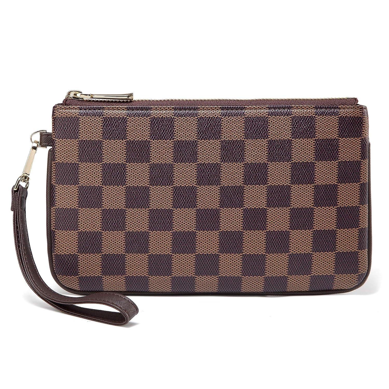 Daisy Rose Checkered Zip...