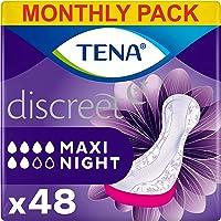 TENA Lady Maxi Night, Compresas - 48 Unidades