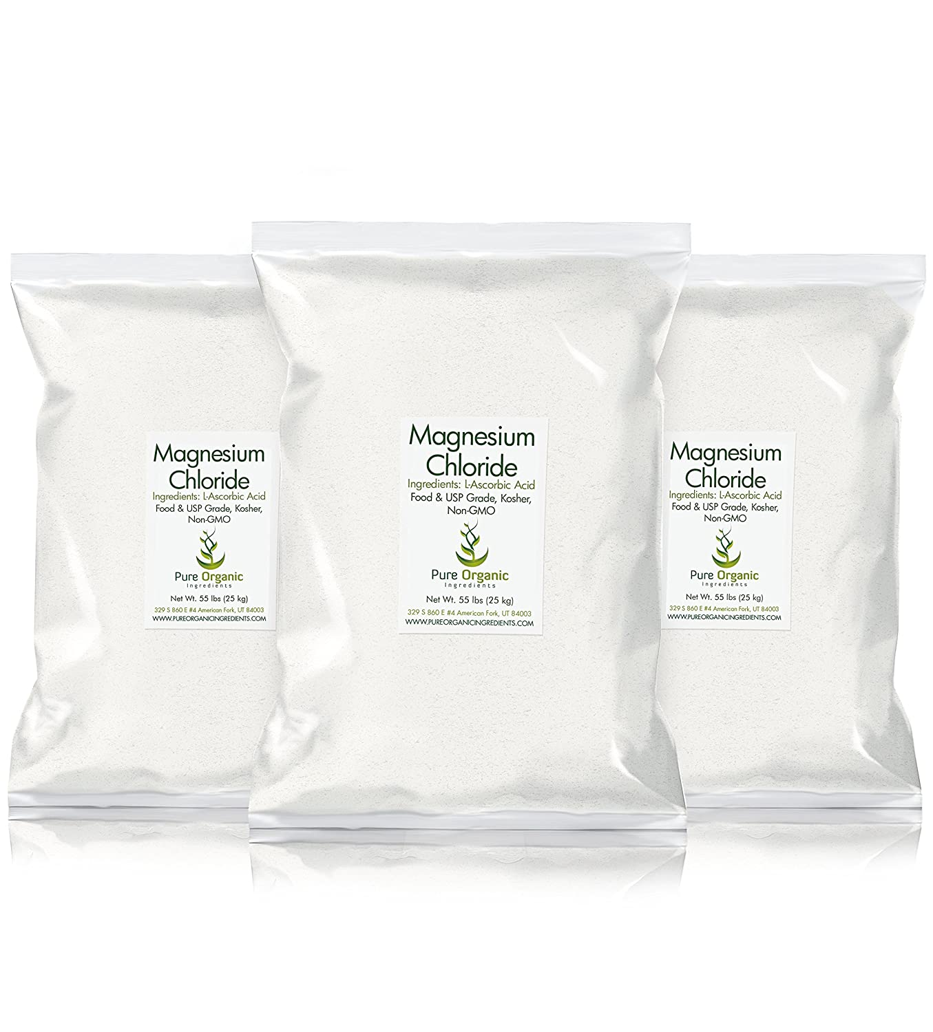 Amazon.com: Magnesium Chloride (1 lb.) by Pure Organic Ingredients, Eco-Friendly Packaging, Crystal Powder, Highest Quality, Oral Supplement, ...