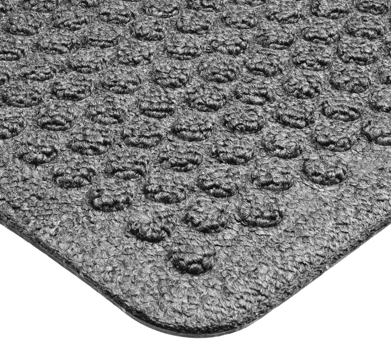 Notrax 150 Aqua Trap Entrance Mat, for Main Entranceways and Heavy Traffic Areas, 2' Width x 3' Length x 3/8'' Thickness, Gray