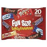 Fun Size Family Favourites 20 Bars, 358 g