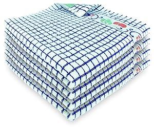 Fecido Fruity Kitchen Dish Towels - Set of 4, Blue Cherry