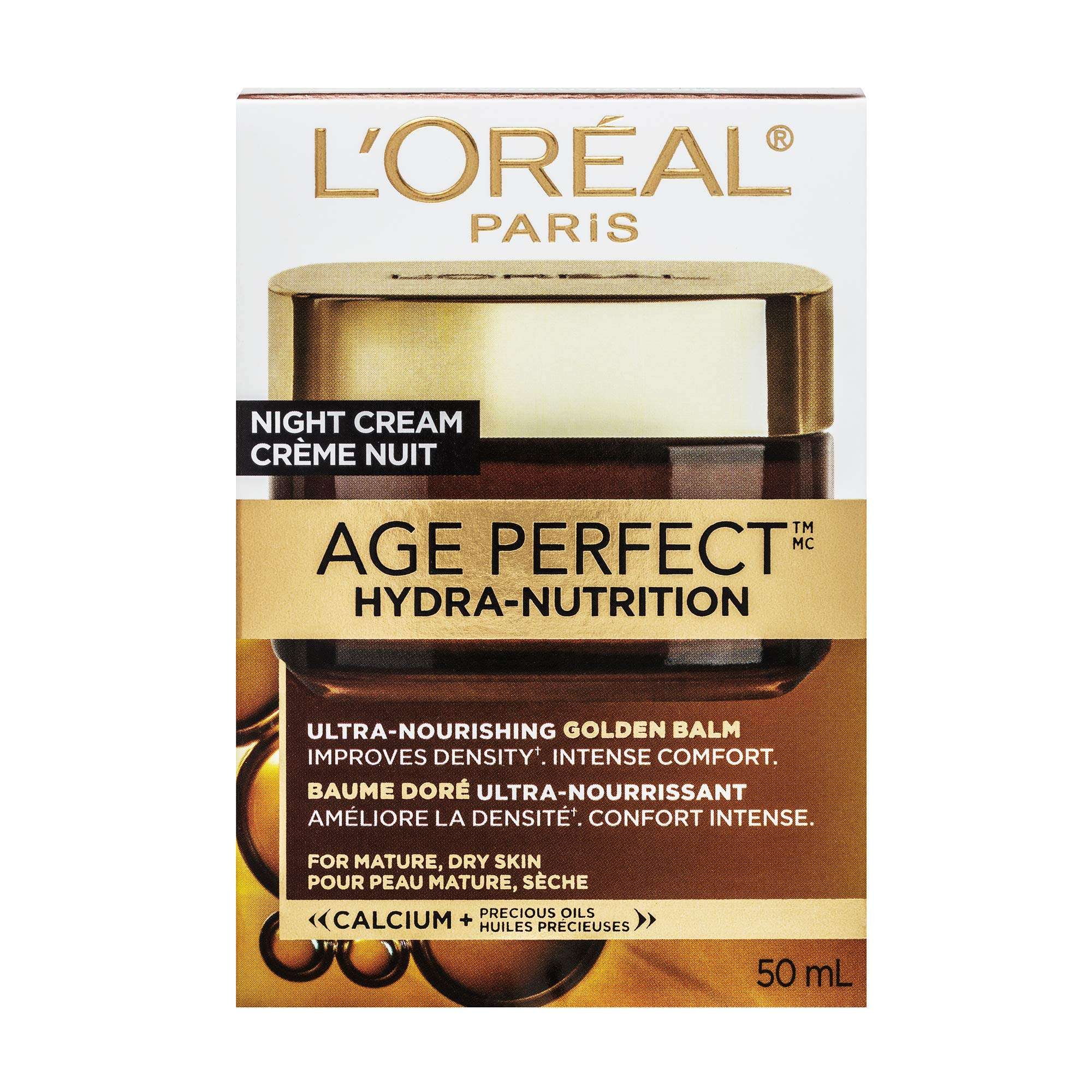 L'Oréal Paris Skincare Age Perfect Hydra-Nutrition Golden Balm Moisturizer for Face, Neck and Chest, Formulated with Calcium and Precious Oils, 1.7 oz. by L'Oreal Paris (Image #4)