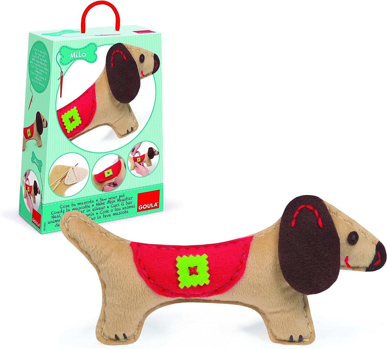 Goula - Perro Milo, muñeca (Diset 52025)