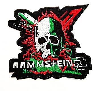 Big Jumbo RAMMSTEIN - Parche de banda de música de punk rock de ...