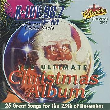 Kluv Christmas Music 2020 Various Artists   The Ultimate Christmas Album: KLUV   Amazon.