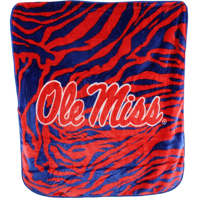 College Covers Raschel Throw Blanket 50 x 60 Arkansas Razorbacks