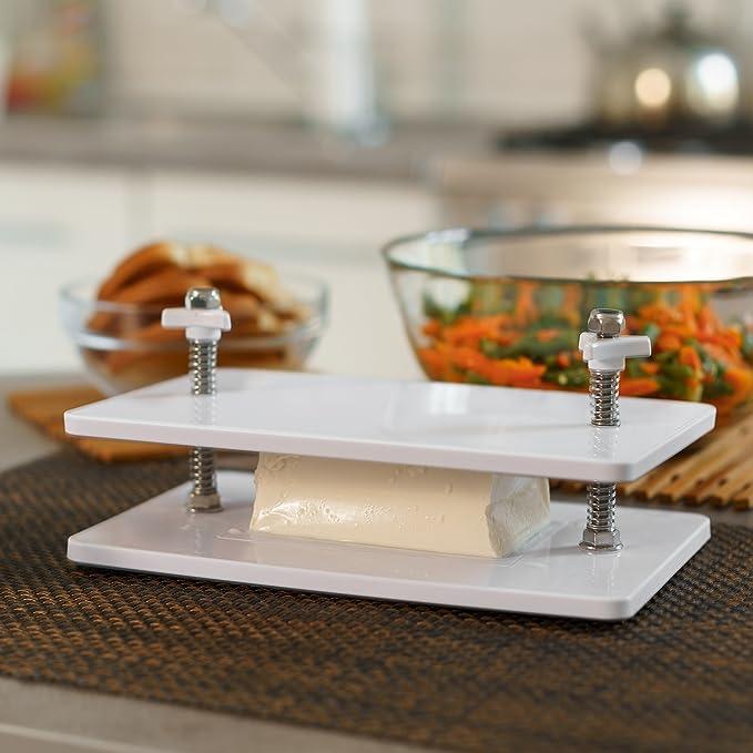 Compra Tofu Press Kit - Escurridor de queso de 4 prendas firme ...