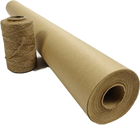 Blami - Rollo de papel Jumbo muy resistente, tamaño XL con cuerda ...