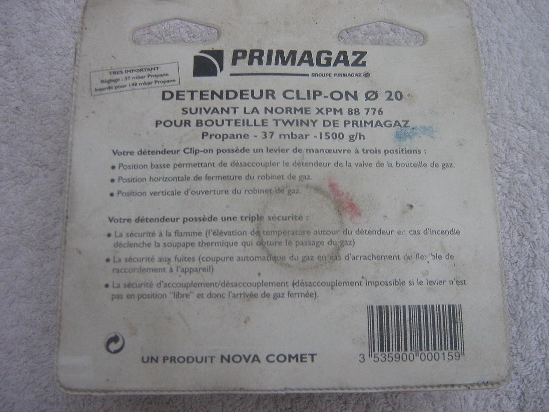 descompresor Clip On Primagaz propano Twiny verde: Amazon.es: Bricolaje y herramientas