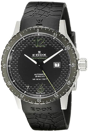 Edox Chronorally1 reloj hombre automática 80094 3N NV