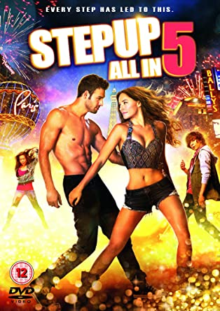 Step Up  All In Dvd