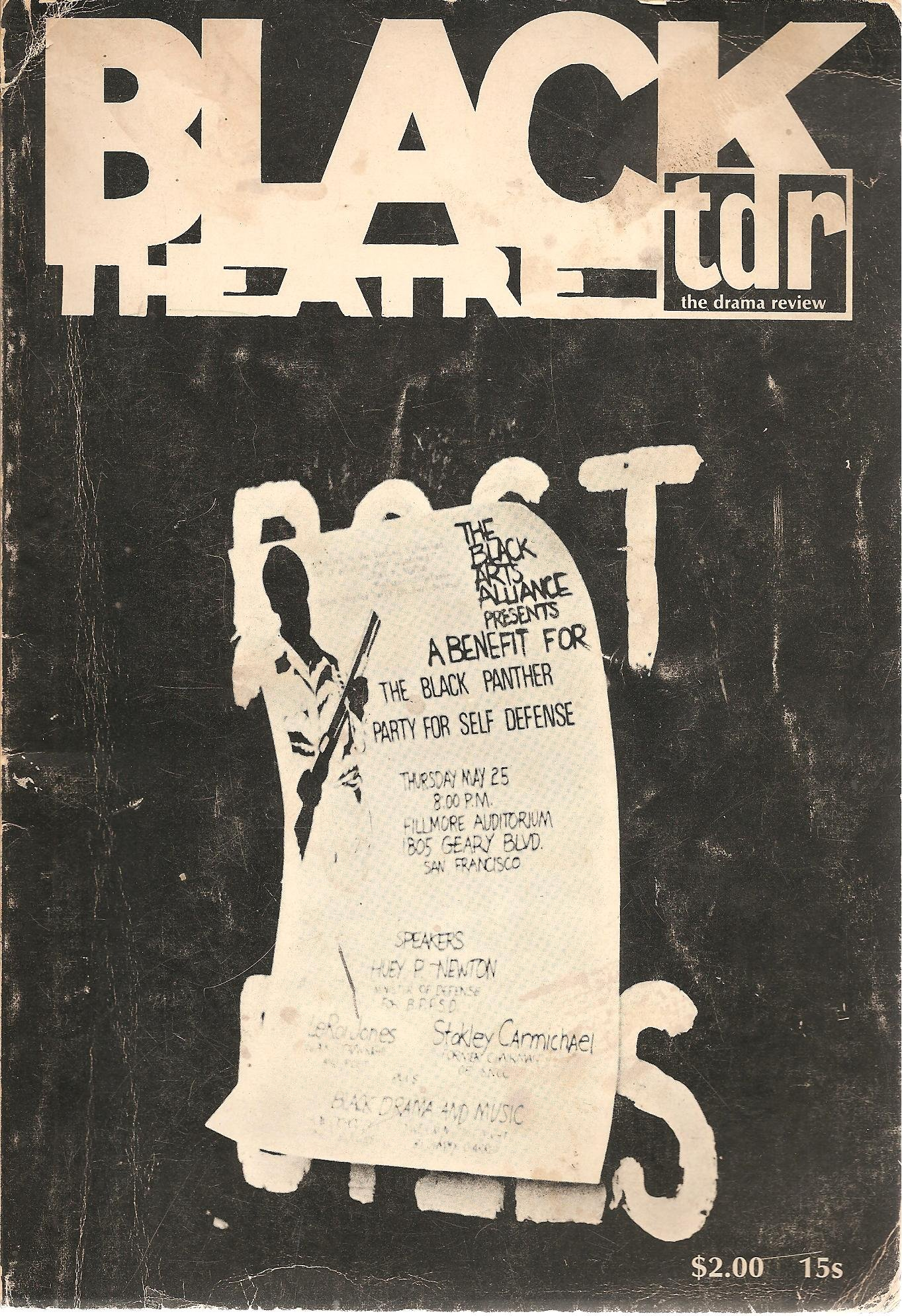 Tdr: The Drama Review, Volume 12 Number 4: Summer 1968. Black Theatre Issue, n/a