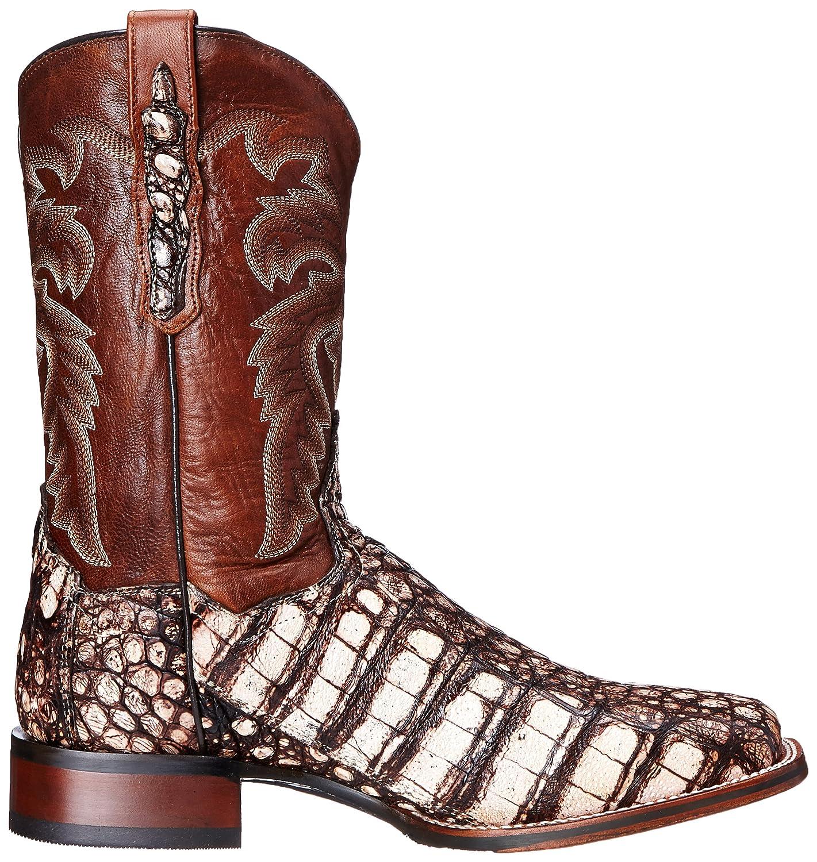 Dan Post Men's Everglades SQ Western Boot B00RIER41Y 10.5 XW US Camel/Pecan