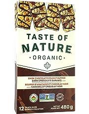 Taste Of Nature Chocolate Nut Bars 12 x 40 Grams Net Wt 480 Grams, 480 Grams