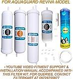 Aquadyne Inline Filter Kit for Aquaguard Reviva (White)