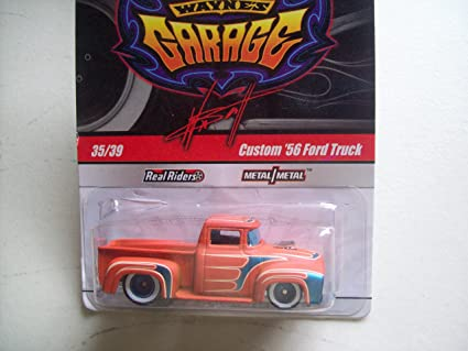 Amazon Com Hot Wheels Wayne S Garage Real Riders Custom 56 Ford