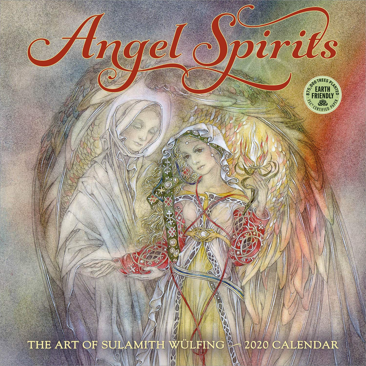 Angel Spirits 2020 Wall Calendar: The Art of Sulamith Wulfing