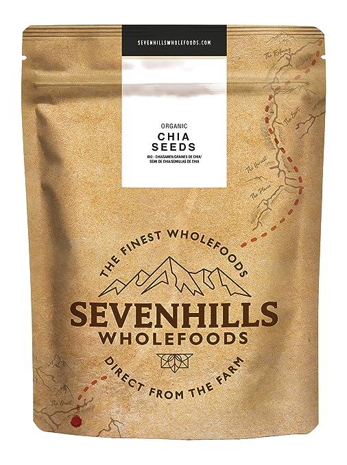 Amazon.com: Sevenhills Organics Raw Chia Seeds 500g ...