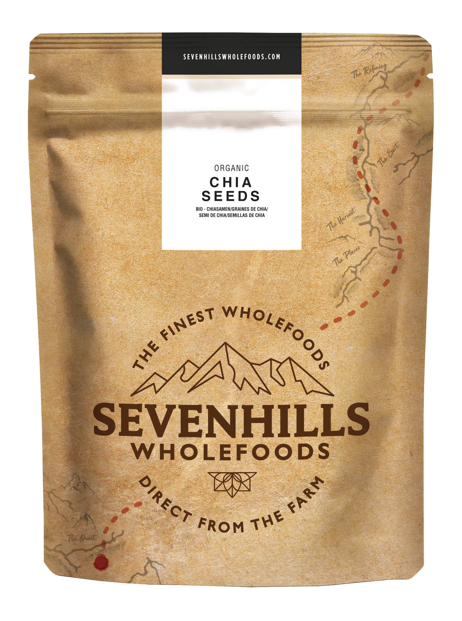 Sevenhills Wholefoods Roh Chiasamen Bio 2kg product image