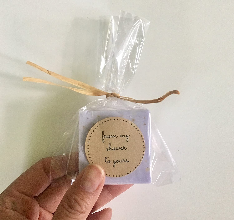 Amazon.com: Lavender Wedding Favors: Purple Soap favors for wedding ...