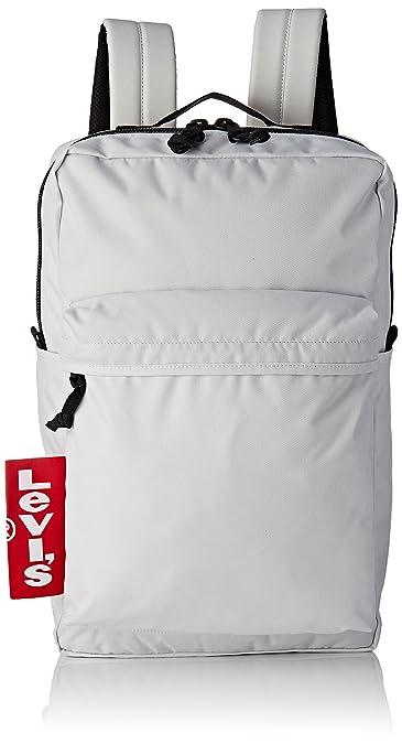 Levis The Levis L Pack Big Tab, Mens Shoulder Bag, White (Noir Regular