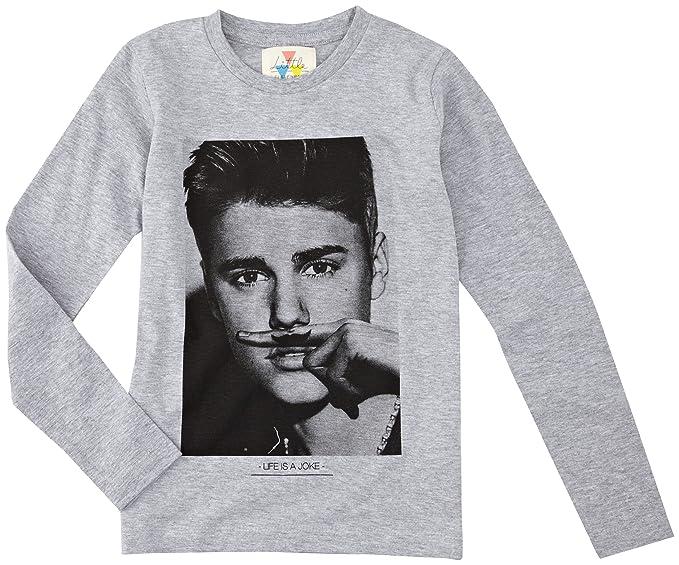 Eleven Paris - Camiseta de Justin Bieber para niña, talla FR : 12 ans (