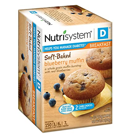 Nutrisystem D Blueberry Muffin, 8 count