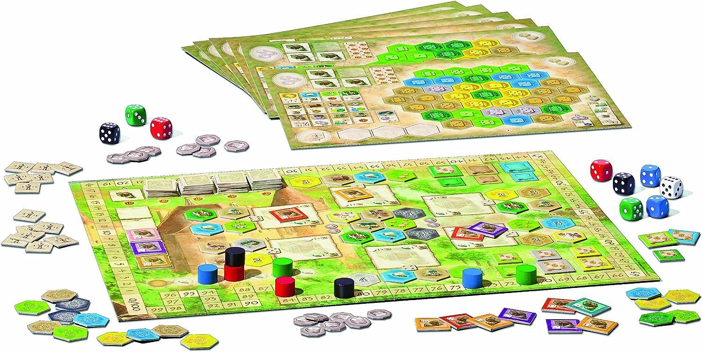 Ravensburger - Juego de Mesa Los Castillos de Borgoña: Amazon.es ...
