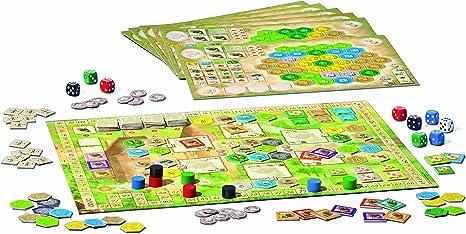 Ravensburger - Juego de Mesa Los Castillos de Borgoña: Amazon.es: Juguetes y juegos