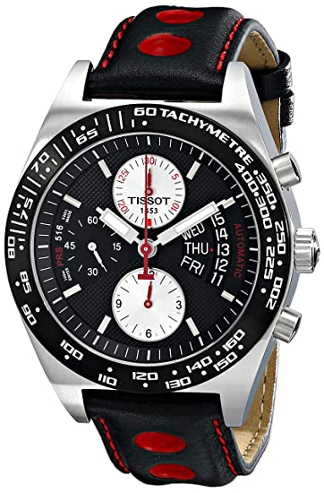 56954743f Image Unavailable. Image not available for. Colour: Tissot Men's T-Sport PRS  516 Chronograph Dial Watch Black T0214142605100
