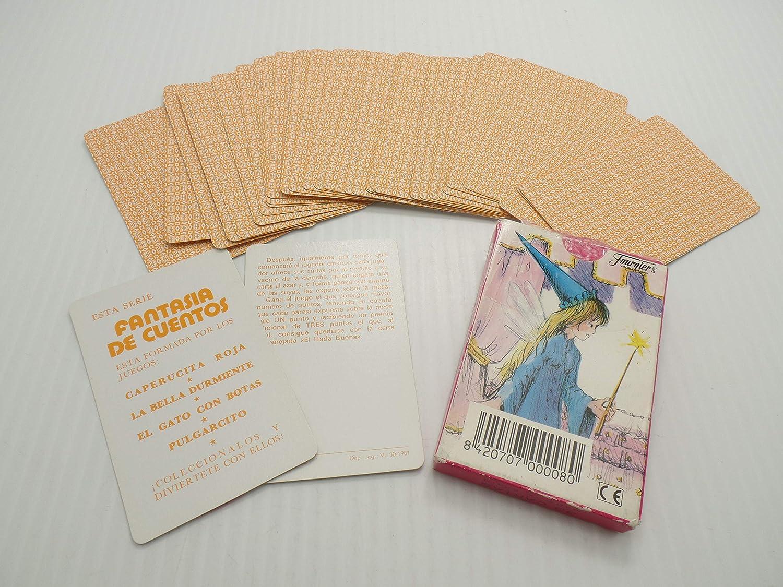 Amazon.com: Juego Infantil La Bella Durmiente Sleeping Beauty Cards Card Game Spain by Heraclio Fournier Vintage: Toys & Games