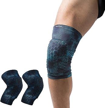 Knee Pad Anti-collision Short Sleeve Leg Support Brace Basketball Running