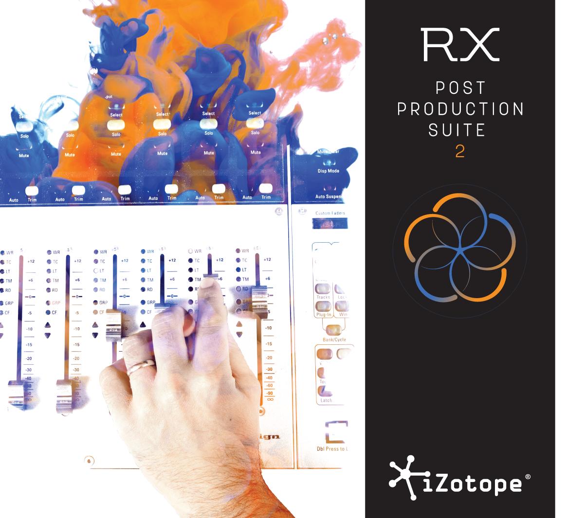 RX Post Production Suite 2: Audio Repair Plug-in, iZotope, Inc. [Online Code]