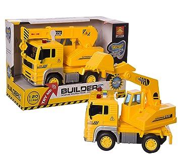 Grúa 96293 Y Juinsa esJuguetes Juegos Camión 0Amazon Fricción CxBedor