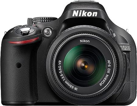 Nikon D5200 Digital Slr Camera With 18 55mm Vr Lens Kit Amazon Co Uk Camera Photo