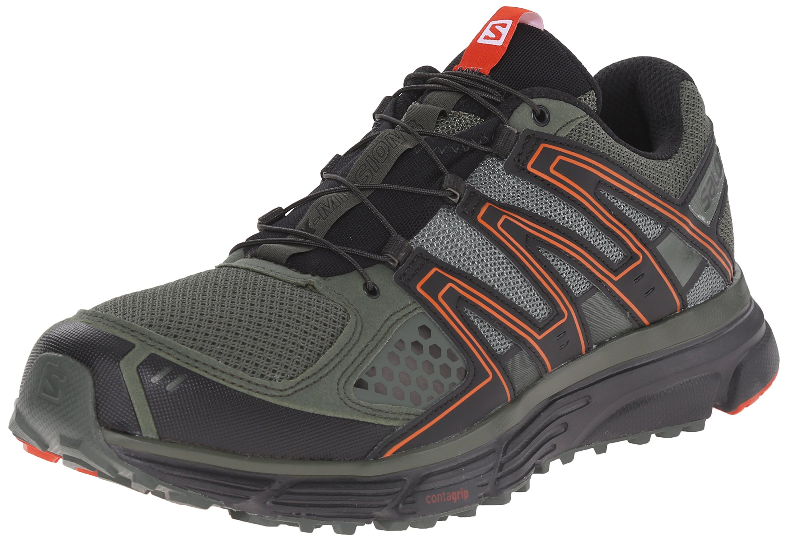 Salomon Men's X-Mission 3 Athletic Shoe, Night Forest, 8.5 M US by Salomon