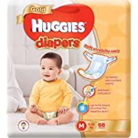 Huggies Gold Medium Diapers, 66 Count