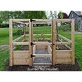 Deer Proof Just Add Lumber Vegetable Garden Kit   8u0027x8u0027