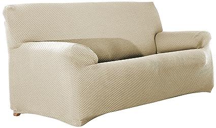 Eysa Sucre Funda de sofá de 4 plazas, Tela, Crudo, 37 x 17 x 29 cm