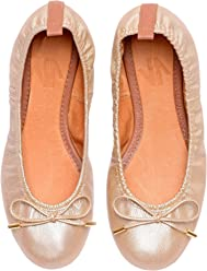 VIDALeather Daily Women Ballerina Colombian Leather Flats | Zapatillas de Mujer