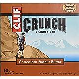 Clif Crunch Granola Bar, Chocolate Peanut Butter, 10 ct