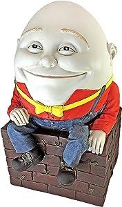 Design Toscano NG32097 Humpty Dumpty Sculpture,Full Color