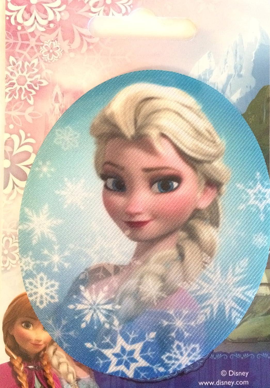 Bügelbild Aufnäher Disney © Frozen 2 Die Eiskönigin 2 Elsa oval