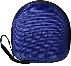 BANZ Kids Earmuffs CASE (NOT Baby Size) - Protective Premium Hard EVA Case - Holds Kids Size Headphones – Protect Children Hearing Earmuffs – Travel Case (Blue)