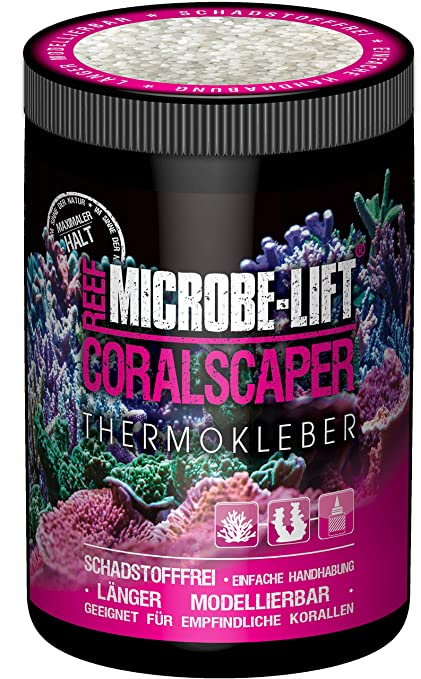 Microbe-Lift 9141-S Coralscaper - Coral Adhesivo térmico para acuarios de Agua Salada